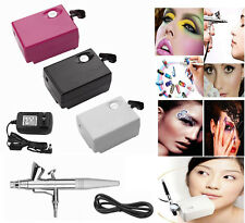 New Beauty Special Air Compressor Set Manicure Temporary Tattoo Cake Paint Kit