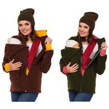 Womens Clothes Kangaroo Baby Hoodie Carrier Jacket Coats Maternity Brood Pouch