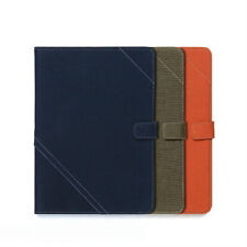 Zenus Cambridge Cotton Leather Protect Smart Diary Cover Case For Apple iPad Air