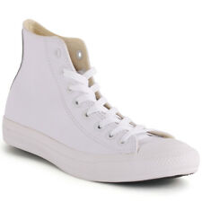 Converse Chuck Taylor All Star High Unisex Trainers White White New Shoes