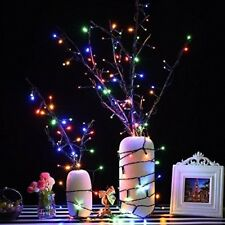 Christmas String Lights Decoration Home Tree 100 LED Controller Multi Color Xmas