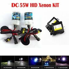 HID Xenon Conversion Kit 55W H1 H3 H4 H7 H11H8H9 H13 9005 9006 Bulbs Ballasts