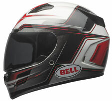 Bell Red/Black/White Adult Vortex Marker Full Face Motorcycle Helmet
