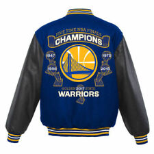 Golden State Warriors JH Design 2017 5 Time Champions Reversible Wool Jacket