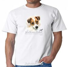 Jack Russel Terrier T-Shirt Puppy Pet Rescue Dog Owner Men's Tee