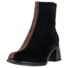 Camper Twins High Womens Ankle Boots Black Brown New Shoes