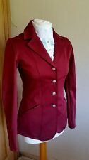 NEW! LADIES MONTAR AVA SOFTSHELL COMPETITION JACKET IN WINE/BURGUNDY