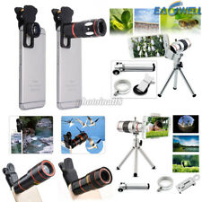 US 8X 10X 12X 18X Optical Zoom Camera Lens Telescope Universal For Apple iPhone