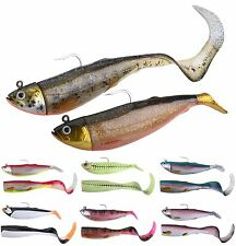 Savage Gear Cutbait Herring Paddle and Curltail Combo Pack -gr. &
