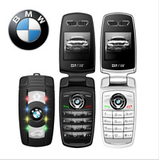 BMW Mini Flip Car Key Mobile Phone Cell Phone Black White