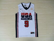MICHAEL JORDAN 1992 USA Basketball Dream Team Olympic Swingman Jersey White NWT