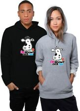 Im Moowy Over Him Christmas Valentine Girlfriend Boyfriend Wife Husband  Hoodie