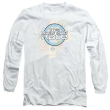 Amazing Race TV Show THE RACE Logo Licensed Adult Long Sleeve T-Shirt S-3XL