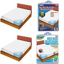 Bed Bug Dust Mite Allergy Relief Blockade Mattress Cover Breathable Allergens