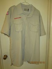 BSA/Cub, Boy & Leader Scout Newest Vented Back Uniform Sht.Slv. Shirt-Adult -18