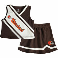 Cleveland Browns Girls Toddler Brown 2-Piece Cheerleader Set - NFL
