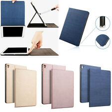 For iPad Air 1 2 New iPad 2017 Smart Cover PU Leather Slim Magnetic Stand Case