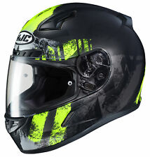 HJC Adult Hi-Viz/Black CL-17 Arica Motorcycle Full Face Helmet Snell DOT