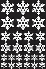 Christmas Snowflake Decorations Window Display Stickers