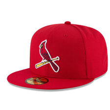 New Era St. Louis Cardinals Red Game Diamond Era 59FIFTY Fitted Hat - MLB