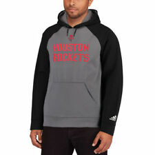 adidas Houston Rockets Gray/Black 2016 Tip-Off Pullover Hoodie - NBA