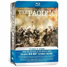 The Pacific (Blu-ray Disc, 2010, 6-Disc Set)