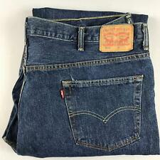 LEVIS Mens 550 Relaxed Fit Dark Wash Blue Denim Jeans 48 x 29