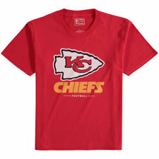NFL Pro Line Kansas City Chiefs Youth Red Team Lockup T-Shirt - NFL