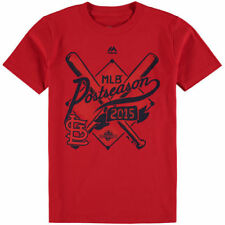 Majestic St. Louis Cardinals Youth Red 2015 Postseason Team Ambition T-Shirt