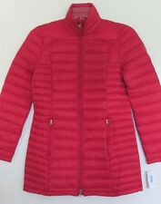 nwt-lrl-active-ralph-lauren-red-glossy-quilted-puffer-jacket-coat-sz-s