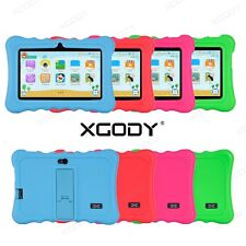 XGODY 7'' Kids Tablet PC Android Quad Core 8GB Dual Camera Wifi HD for Children