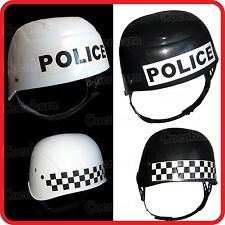 KIDS CHILDRENS BOYS POLICE COP SWAT HELMET HAT - ARMY MILITARY COMMANDO SOLDIER
