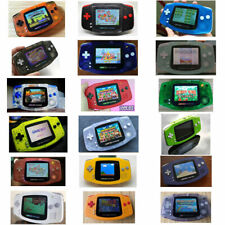 Nintendo Game Boy Advance GBA AGS 101 Mod Backlit Pick Shell & Buttons! SWITCH!