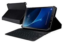 Leather Case with Bluetooth cordless keyboard stand for Samsung Galaxy Tab 2
