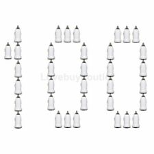 100x Lot White 1A USB Adapter Car Charger For iPhone Samsung LG Moto Nexus