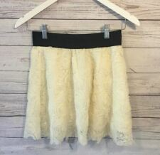 Forever 21 Cream Skirt- Juniors XS