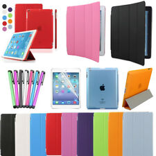 Magnetic Leather Slim Smart Case Cover Stand for Apple iPad 2 3 4 with 8 Colors