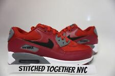 (537384-606) MEN'S NIKE AIR MAX 90 ESSENTIAL GYM RED/BLACK/NOBLE RED