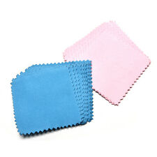 10xJewelry Polishing Cloth Cleaning for Platinum Gold and Sterling Silver MZ
