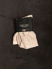 NWT, $38. MSRP, Womens Simply Vera Wang Corduroy Leggings w/ Rivets Ankle Length