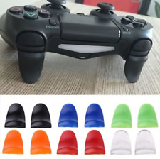 2pcs R2 L2 Button Extended Trigger Cover Extender for Playstation 4 PS4 Slim JD