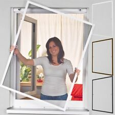 """Insect Protection Window Aluminium Frame Fly Screen Window Kit """" X"""