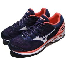 Mizuno Wave Rider 21 Purple Pink White Women Running Shoes Sneakers J1GD1803-02