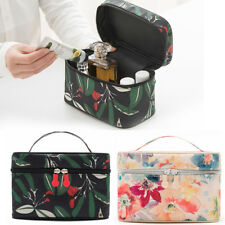 Printed Beauty Makeup Cosmetic Box Jewellery Nail Tech Vanity Case Storage Bag