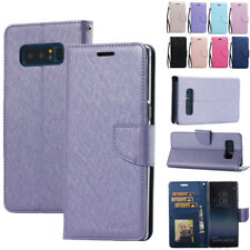 Magnetic Flip Cover Leather Card Slot Strap Stand Case For Samsung Galaxy Note 8