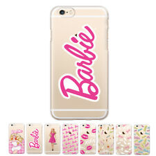 Gcase Barbie Clear Jelly Protect Bumper Case For Apple iPhone 6 6S 6/6S Plus