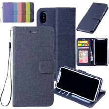 Luxury Magnetic Flip Leather Stand Photo Cards Wallet Case Cover For iPhone X/8