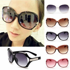 Retro Fashion Big Style Womens Vintage Shades Oversized Designer Sunglasses Lady