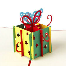 3D Pop UP Birthday Butterfly Greeting Card