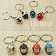 Creative Motorcycle Helmet Key Chain Ring Simulation Lovely Keychain Metal